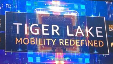 Intel Tiger Lake вновь подтвердил превосходство над Ryzen 4000 по производительности графики