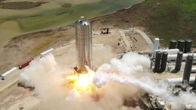 SpaceX завершила испытания двигателей Starship SN5. Следующий этап—  «прыжок» на 150 метров