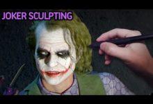 Парень с помощью компьютерной графики создал фотореалистичного Джокера из «Темного рыцаря»