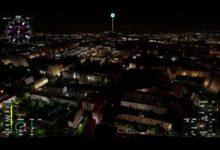 Microsoft Flight Simulator 2020: пролет над ночной Москвой с RTX 2060