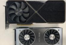 Опубликованы фотографии GeForce RTX 3090 в эталонном дизайне: видеокарта—  супергигант