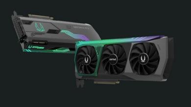 Опубликованы изображения видеокарт Zotac GeForce RTX 3090, RTX 3080 и RTX 3070
