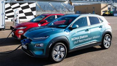 Более 1000 км: кроссовер Hyundai Kona Electric установил рекорд пробега без подзарядки