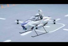 Прямо как в Cyberpunk 2077: в Японии и США тестируют летающие машины