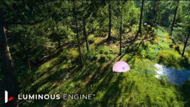 Square Enix показала, каким красивым может получиться открытый мир в игре на ее движке