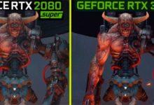 Сравнение Doom Eternal, запущенном на RTX 2080 и RTX 3080 мало кого впечатлило