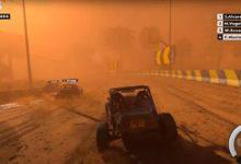 DIRT 5 с гонкой в песчаной буре