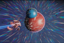 Удивительное явление: игрок нашёл в No Man's Sky две частично слившиеся воедино планеты
