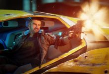 Авторы Cyberpunk 2077 показали ролики про машины и мотоцикл Киану Ривза