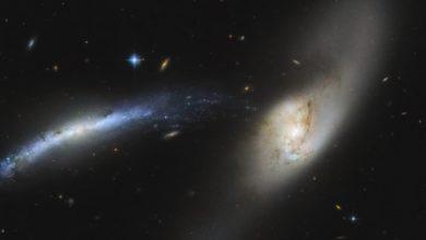 Фото дня: галактическая водосточная труба запечатлена телескопом«Хаббл»