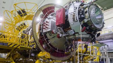 Фото дня: МКС-модуль «Наука» готовится к запуску на космодроме Байконур