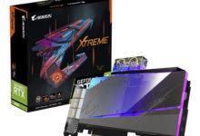 Gigabyte представила видеокарту GeForce RTX 3080 Aorus Xtreme WaterForce WB с водоблоком полного покрытия