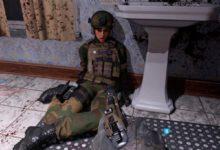 Играющего в Call of Duty: Modern Warfare шокировал труп-убийца