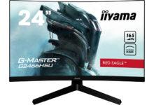 """Iiyama представила вогнутые игровые мониторы G-Master Red Eagle диагональю до 32"""""""
