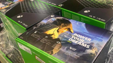 Коробка со склада и распаковка Xbox Series X