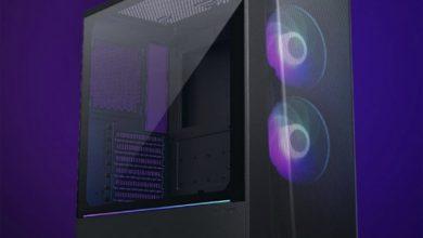 Корпус Phanteks Eclipse P360A с двумя вентиляторами D-RGB поддерживает видеокарты длиной до 400 мм