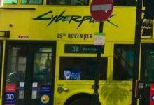 Лондонский автобус с рекламой старой даты Cyberpunk 2077 расстроил фанатов