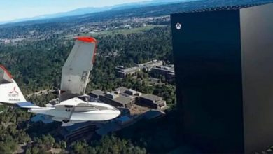 Microsoft Flight Simulator с новым патчем и огромной Xbox X на месте офиса Microsoft