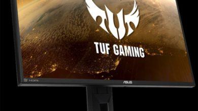 Монитор для игр ASUS TUF Gaming VG259Q имеет частоту обновления 165 Гц