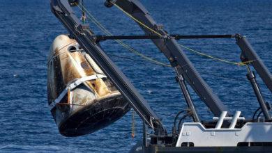 Полёт капсулы Crew Dragon с экипажем выявил проблемы с тепловым щитом