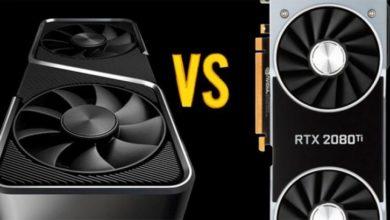 RTX 3070 сравнили с RTX 2080 Ti. Видеокарты равны по мощности, но не по цене