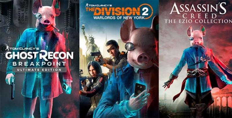 Ubisoft пиарит Watch Dogs Legion, «взломав» собственные игры