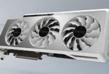 Видеокарты GIGABYTE серии GeForce RTX 3000 Vision получили оригинальное исполнение
