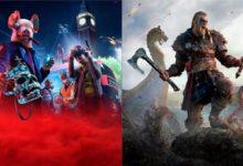 Assassin's Creed Valhalla и Watch Dogs Legion не хотят обновляться с PS 4 до PS 5