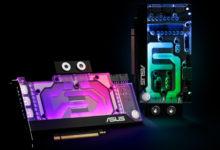 ASUS наделила видеокарты GeForce RTX 3000 водоблоками EKWB