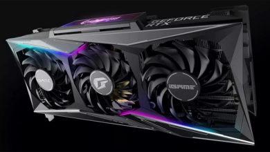Colorful представила огромную видеокарту iGame GeForce RTX 3080 Vulcan OC с поворотным ЖК-дисплеем