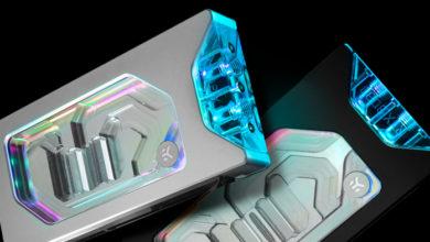 EKWB представила водоблок с подсветкой для NVIDIA GeForce RTX 3080 Founders Edition