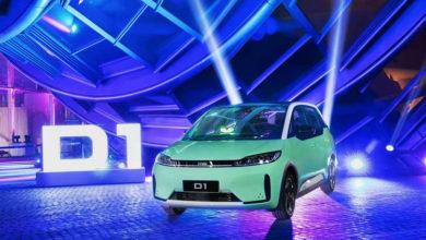 Китайцы представили электромобиль, разработанный специально для такси и каршеринга