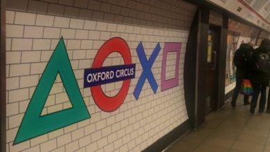 Лондонская подземка стала живой рекламой PlayStation 5. Вышло очень круто (фото)