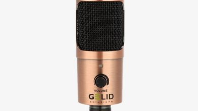 Микрофон Gelid Voce для стримеров обеспечивает высокое качество передачи голоса