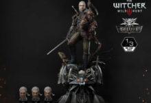 Prime 1 Studios выпустит статуэтку Геральта из The Witcher 3 за 110 тысяч рублей — она весит более 25 кг