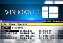Сегодня Windows 1.0 исполнилось 35 лет. Вспоминаем, чем она была хороша