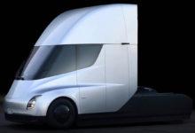 Tesla получила крупнейший заказ на электрические грузовики Tesla Semi