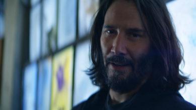 В мире Cyberpunk 2077 нашлось место Киану Ривзу — малоизвестному актёру с лицом Джонни Сильверхенда