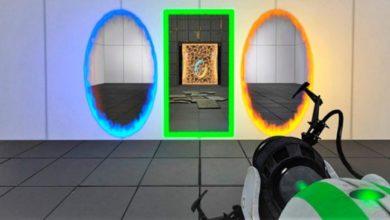 В Portal Reloaded есть четвёртое измерение и третий портал