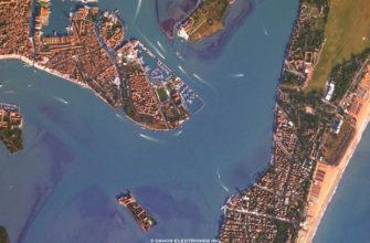 Canon представила сайт, на котором можно получить фото поверхности Земли с настоящего спутника
