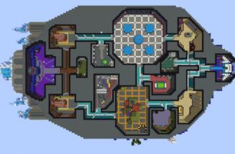 Игрок с поразительной точностью воссоздал в Minecraft карту из Among Us