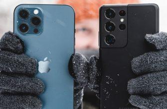 Камеры Samsung Galaxy S21 Ultra и iPhone 12 Pro Max сравнили на видео