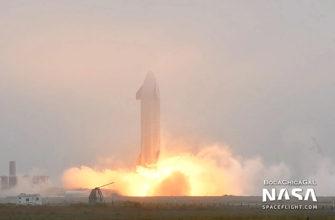 SpaceX снова провела огневые испытания двигателей Starship SN9 — запуск состоится на днях
