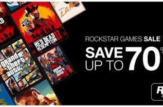 GTA V, Red Dead Redemption 2 и другие со скидками до 70 %: в Steam началась распродажа игр Rockstar Games
