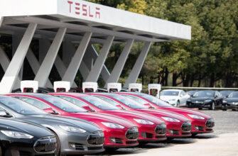 Продажи Tesla рухнули в Европе— покупатели стали выбирать электрокары других производителей