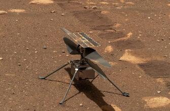 Опубликован автопортрет марсохода «Настойчивость»на фоне марсианского вертолёта«Изобретательность»