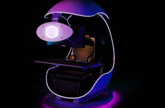 Cooler Master представила игровое кресло будущего — с поддержкой спины и хорошим звуком